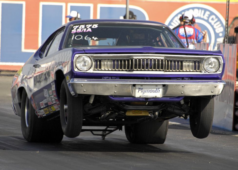 NHRA drag racing race hot rod rods plymouth duster d wallpaper