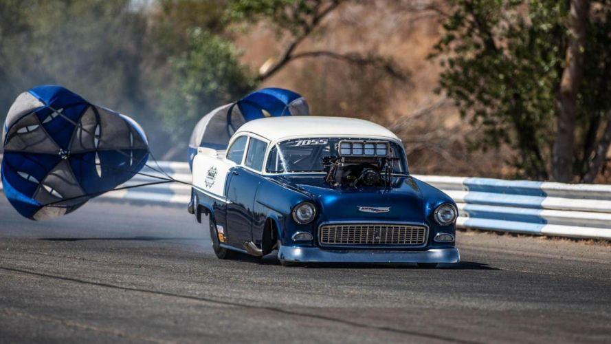 NHRA drag racing race hot rod rods chevrolet belair v wallpaper