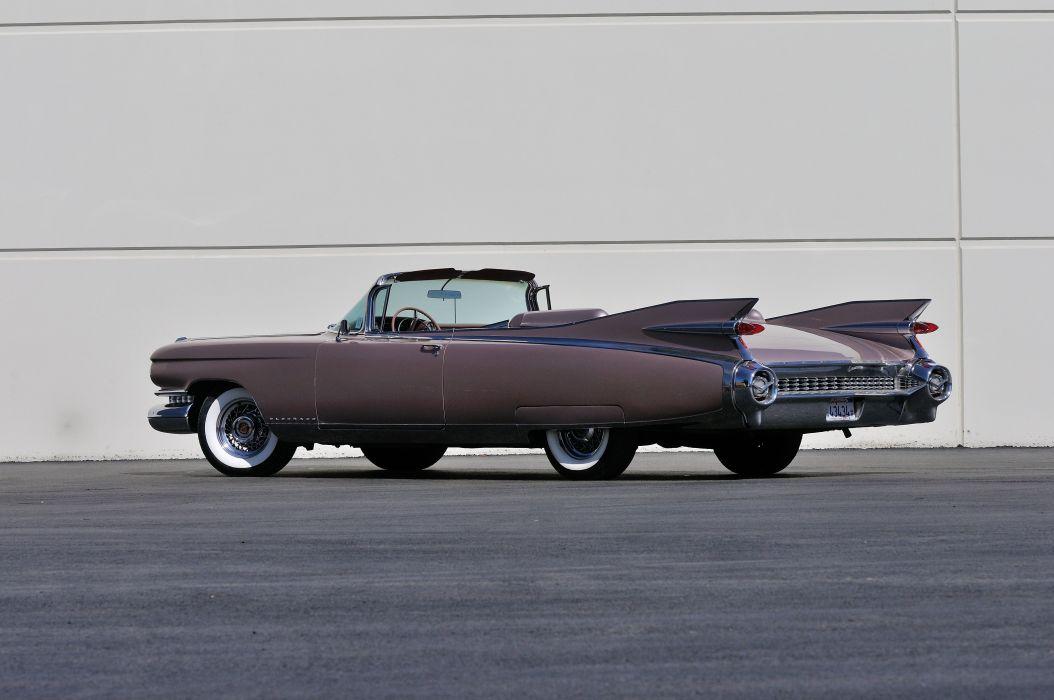 1959 Cadillac Eldorado Biarritz Convertible Classic Old USA 4200x2790-03 wallpaper