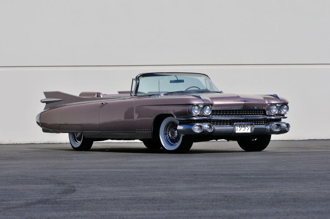 1959 Cadillac Eldorado Biarritz Convertible Classic Old USA 4200x2790-01 wallpaper