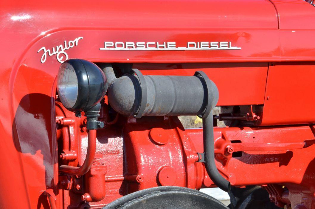 1960 Porsche Diesel Junior Red Germany 4928x3264-04 wallpaper