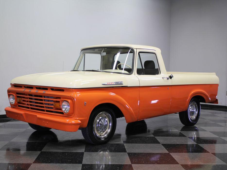 1962 Ford F-100 Pickup Classic Old USA 4608x3456-01 wallpaper