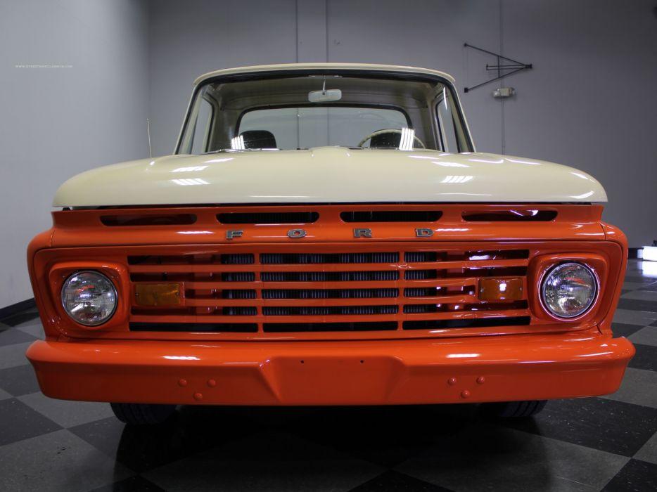 1962 Ford F-100 Pickup Classic Old USA 4608x3456-03 wallpaper