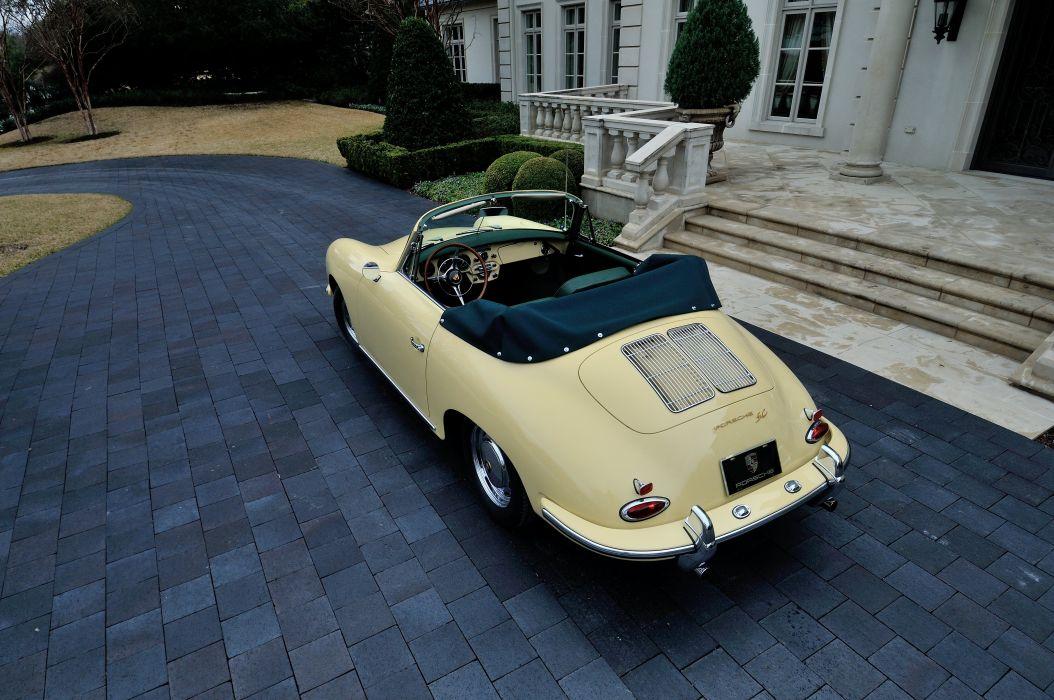 1965 Porsche 356 SC Cabriolet Classic Old Vintage Germany 4288x2848-08 wallpaper