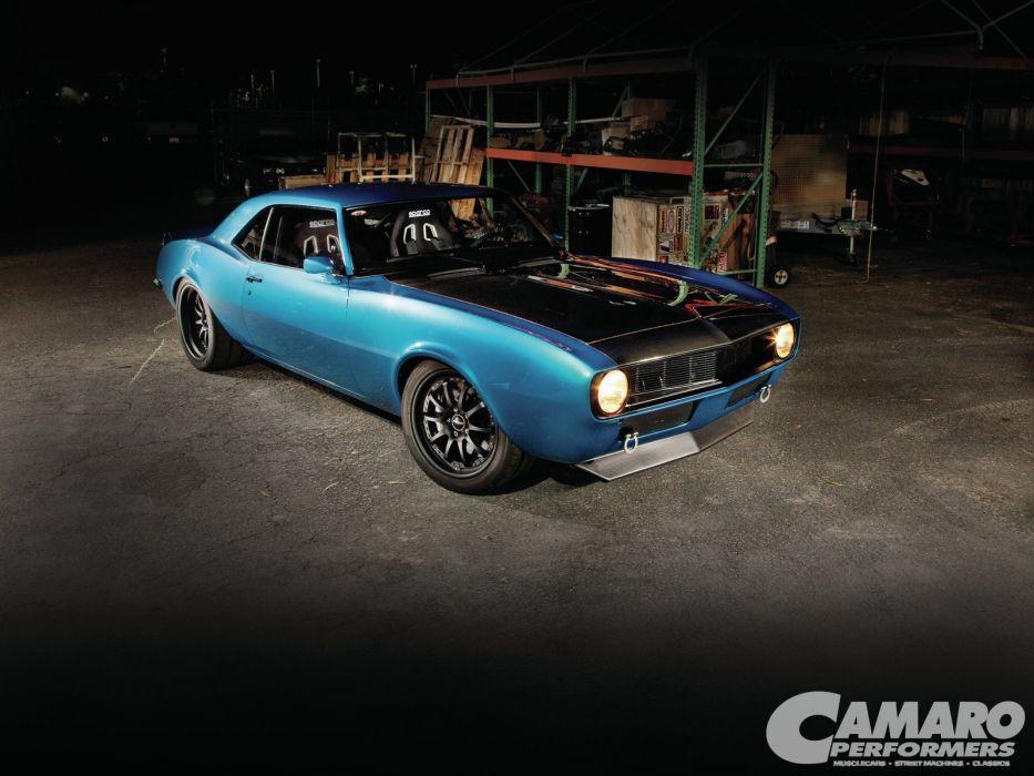 1968 Chevolet Camaro Streetrod Street Rod Hot Muscle USA 1600x1200-04 wallpaper