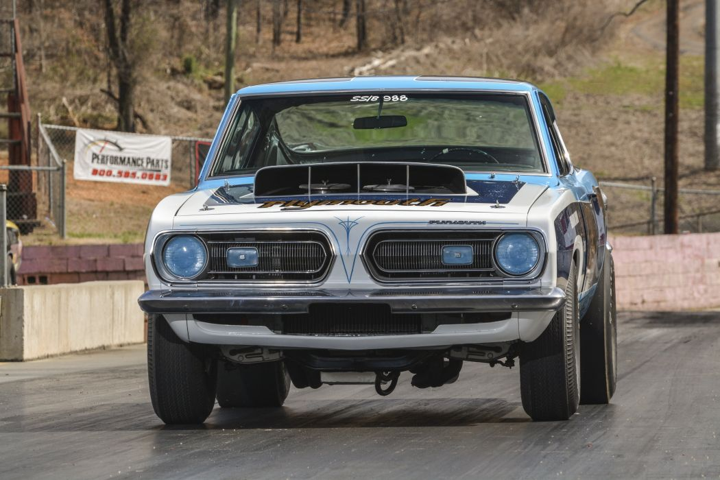 1968 Plymouth Barracuda Super Stock Drag Dragster Race USA 6000x4000-01 wallpaper