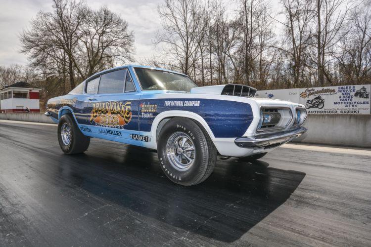 1968 Plymouth Barracuda Super Stock Drag Dragster Race USA 6000x4000-02 wallpaper