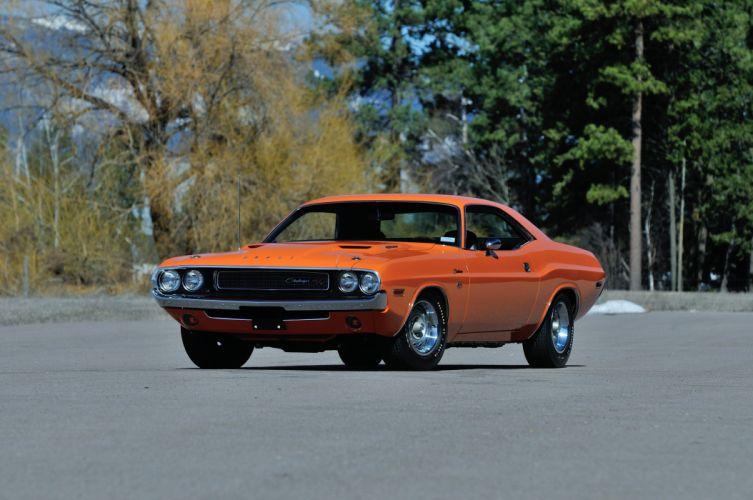 1970 Dodge 426 Hemi Challenger RT Orange USA 4288x2848-01 wallpaper