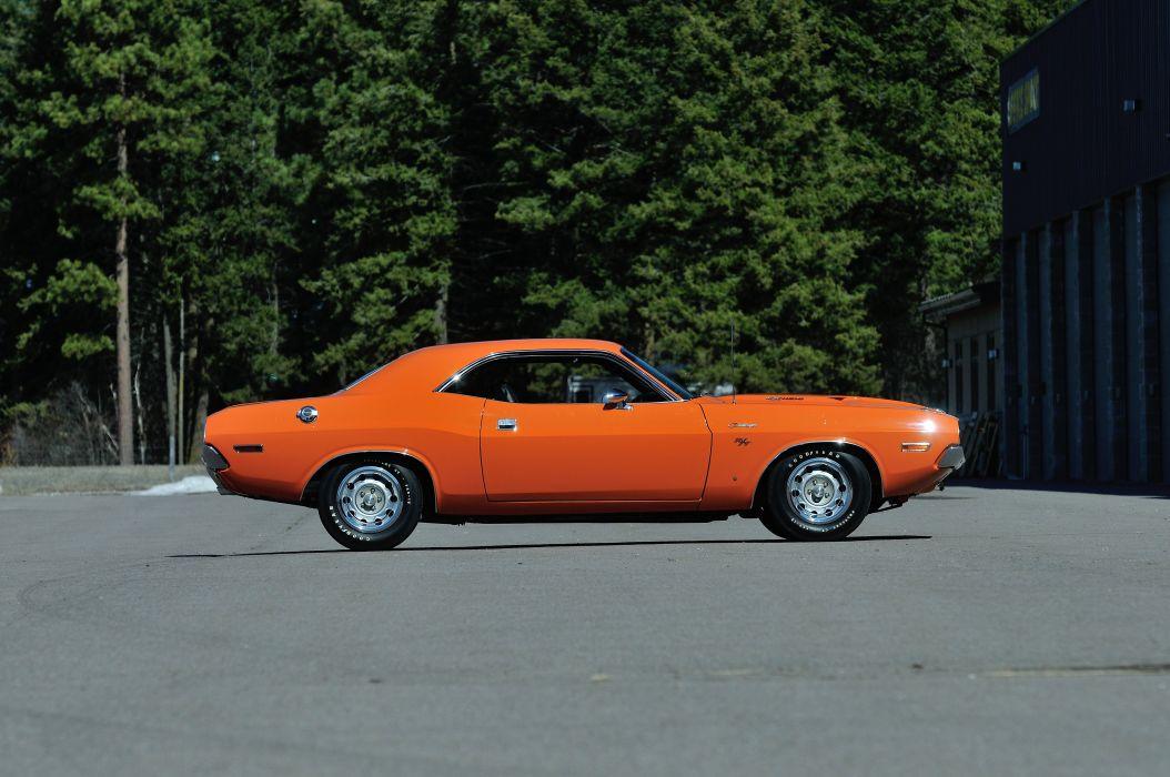 1970 Dodge 426 Hemi Challenger RT Orange USA 4288x2848-02 wallpaper