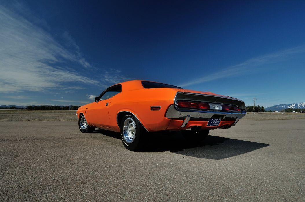 1970 Dodge 426 Hemi Challenger RT Orange USA 4288x2848-05 wallpaper