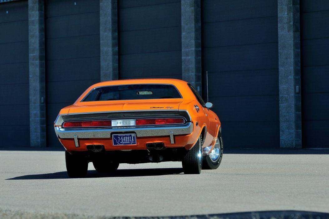 1970 Dodge 426 Hemi Challenger RT Orange USA 4288x2848-10 wallpaper