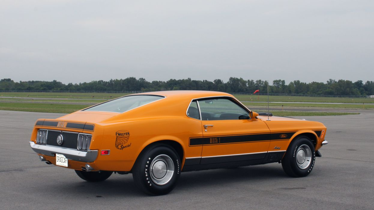 1970 Ford Mustang Mach1 Twiste Special Muscle Classic USA 4752x2673-02 wallpaper