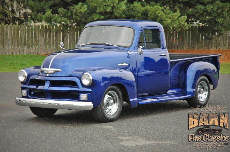 1954 Chevrolet 3100 Hotrod Hot Rod Custom USA 1500x1000-01 wallpaper