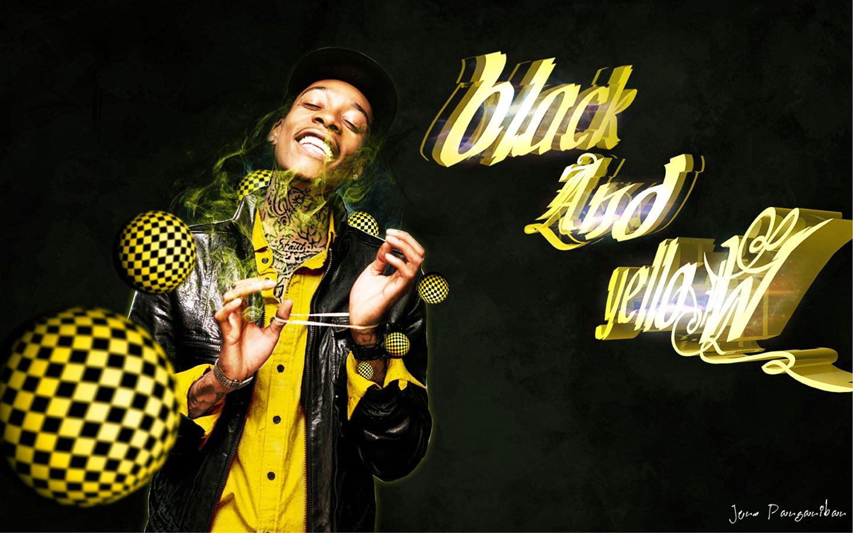 wiz khalifa black and yellow - HD1440×900