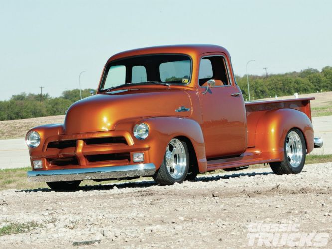 1954 Chevrolet 3100 Hotrod Streetrod Hot Rod Street USA 1600x1200-14 wallpaper