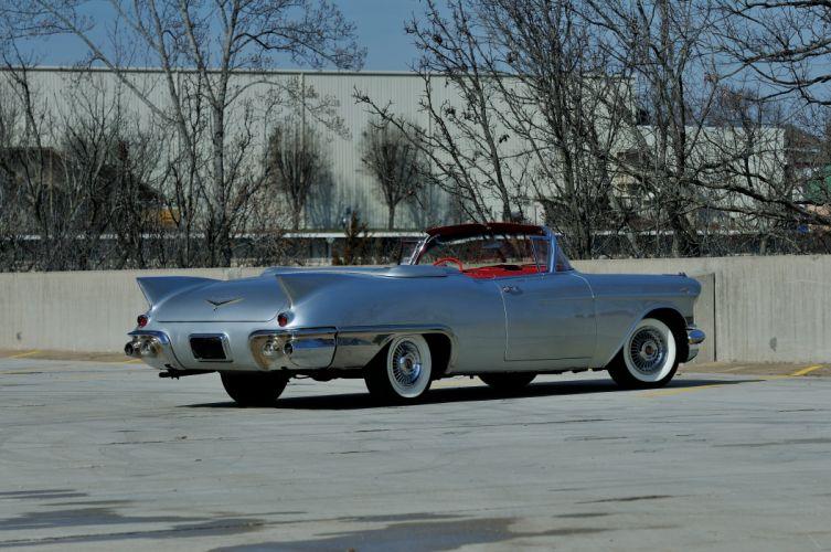 1957 Cadillac Eldorado Biarritz Convertible Classic Old Retro Vintage USA 4288x2848-03 wallpaper