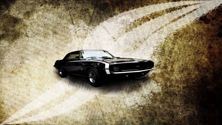 1967 Chevrolet SS classic motors old speed cars background wallpapers wallpaper