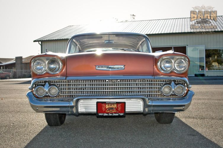 1958 Chevrolet Impala Coupe Hardtop Classic Old USA 2240x1488-12 wallpaper