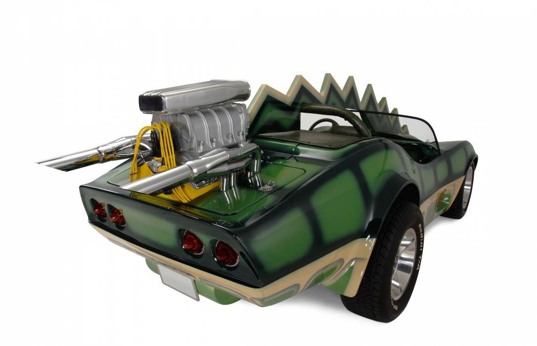 1975 Movie Death Race 2000 Horrible Ugly Fantasy Fiction Corvette Fantasy Curious Bizarre USA 4500x2900-04 wallpaper