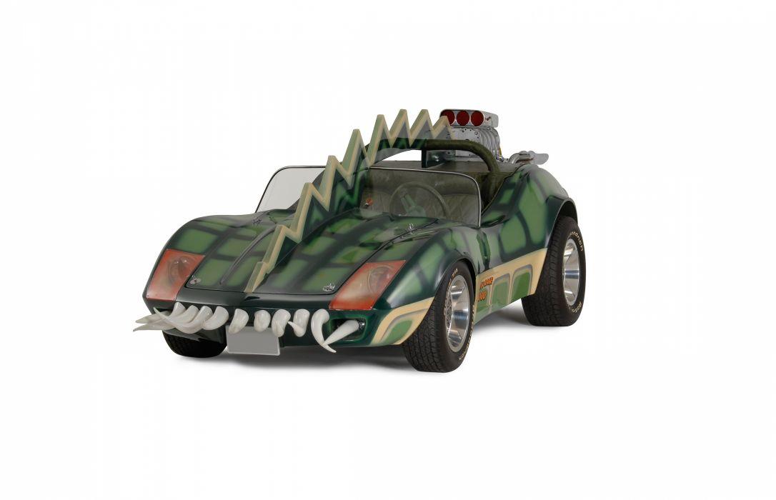 1975 Movie Death Race 2000 Horrible Ugly Fantasy Fiction Corvette Fantasy Curious Bizarre USA 4500x2900-05 wallpaper