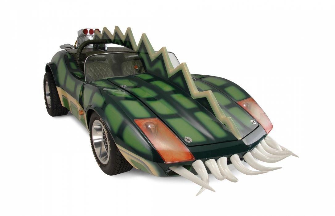 1975 Movie Death Race 2000 Horrible Ugly Fantasy Fiction Corvette Fantasy Curious Bizarre USA 4500x2900-07 wallpaper