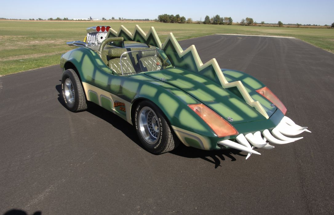 1975 Movie Death Race 2000 Horrible Ugly Fantasy Fiction Corvette Fantasy Curious Bizarre USA 4500x2900-02 wallpaper