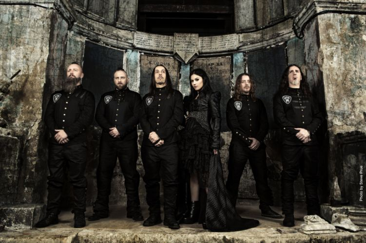 LACUNA COIL Cristina Scabbia hard rock gothic metal heavy alternative wallpaper