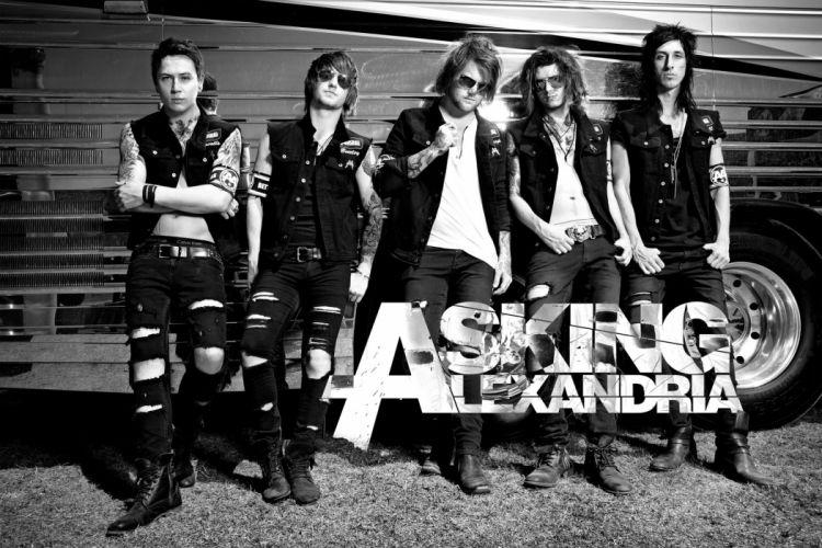 ASKING ALEXANDRIA metalcore heavy metal hard rock 1aska wallpaper