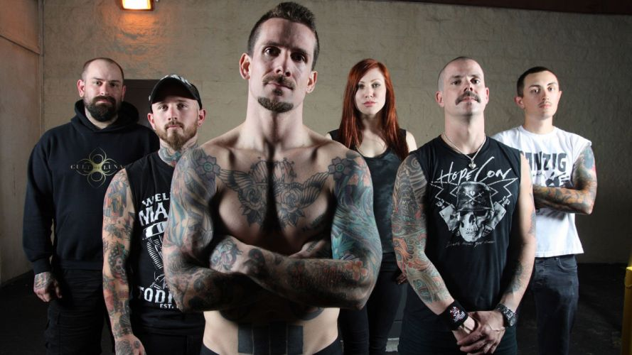 BLEEDING THROUGH metalcore heavy metal melodic death 1bthro black symphonic wallpaper