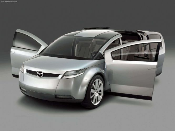 Mazda Washu Concept cars 2003 wallpaper