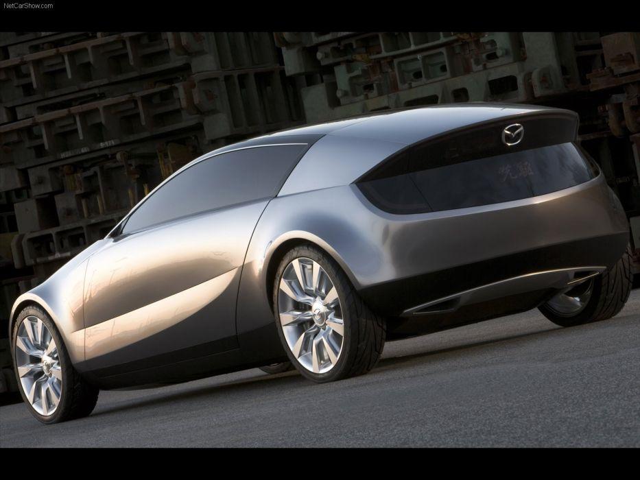 Mazda Senku Concept cars 2005 wallpaper