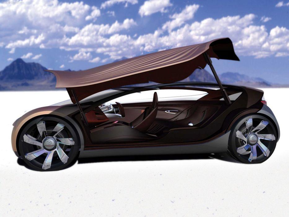 Mazda Nagare Concept cars 2006 wallpaper