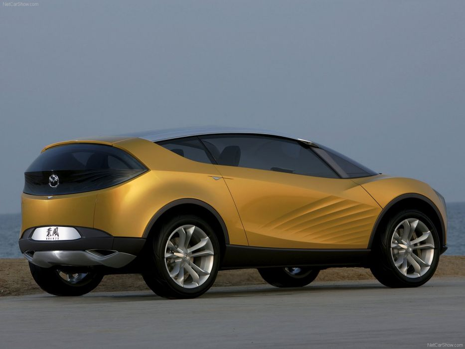 Mazda Hakaze Concept cars 2007 wallpaper