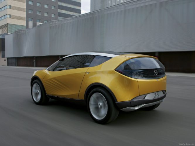 Mazda Hakaze Concept cars 2007 wallpaper