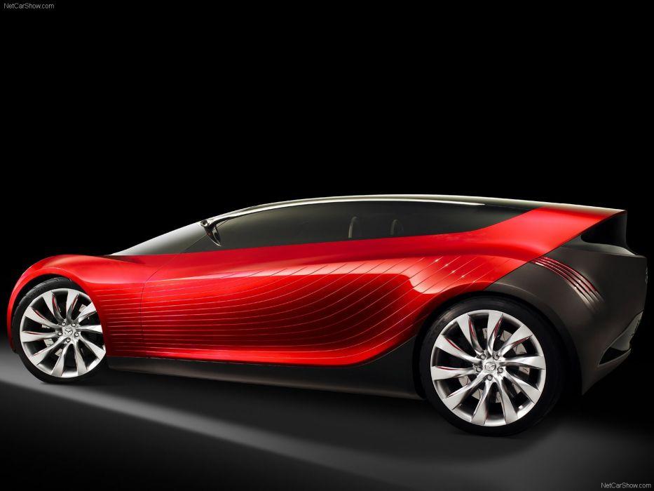 art cars Concept Mazda red ryuga vehicles 2007 wallpaper