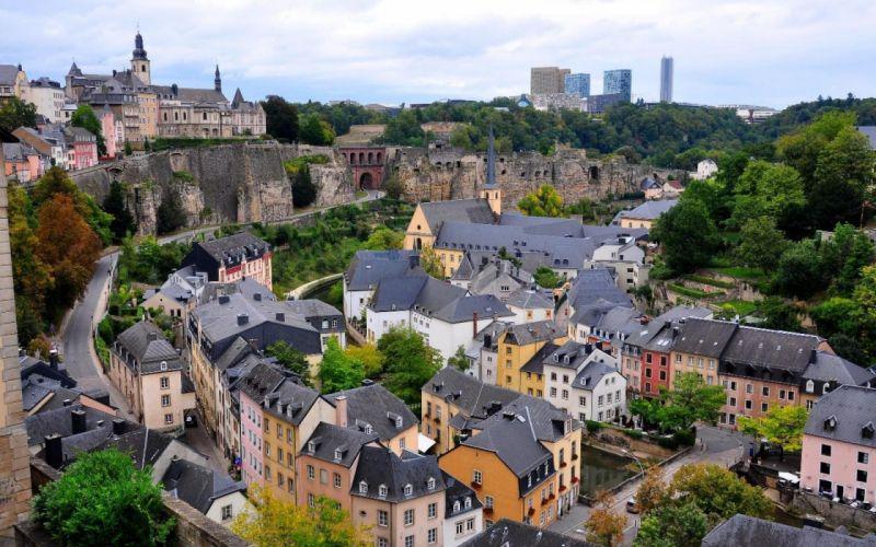 luxemburgo city ciudad europa edificios wallpaper