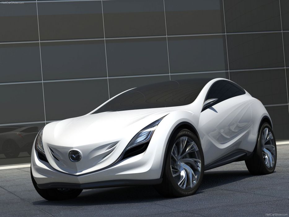 Mazda Kazamai Concept cars 2008 wallpaper