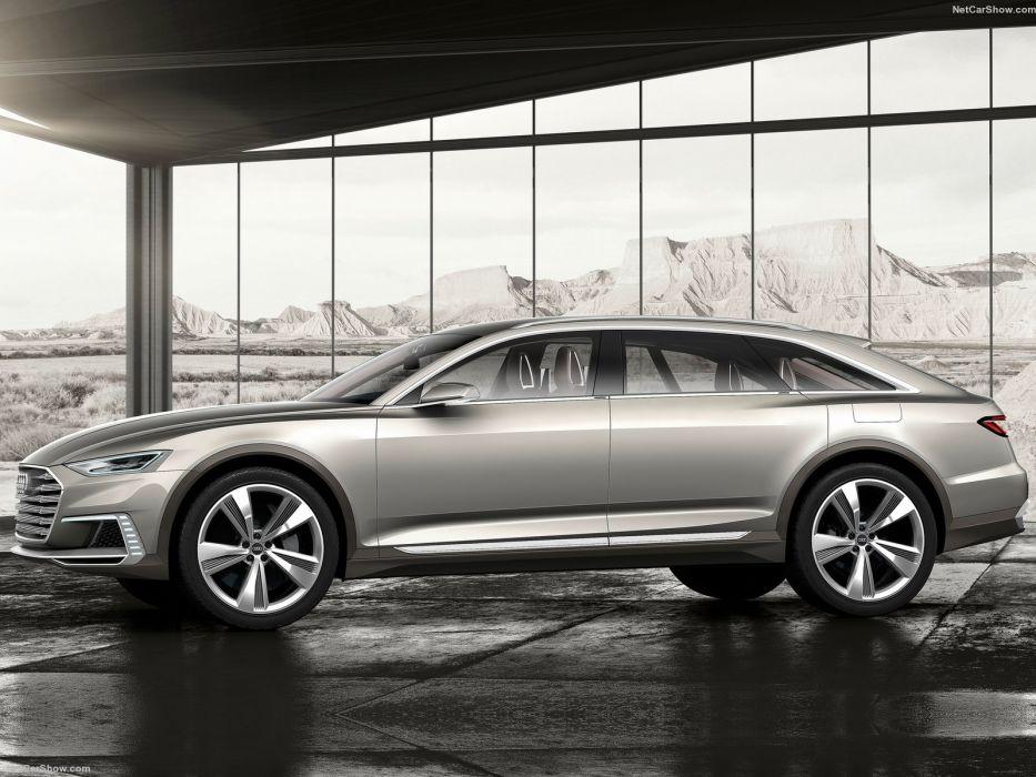 Audi Prologue Allroad Concept cars suv 2015 wallpaper