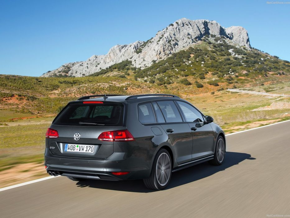 Volkswagen Golf GTD Variant cars diesel wagon 2015 wallpaper