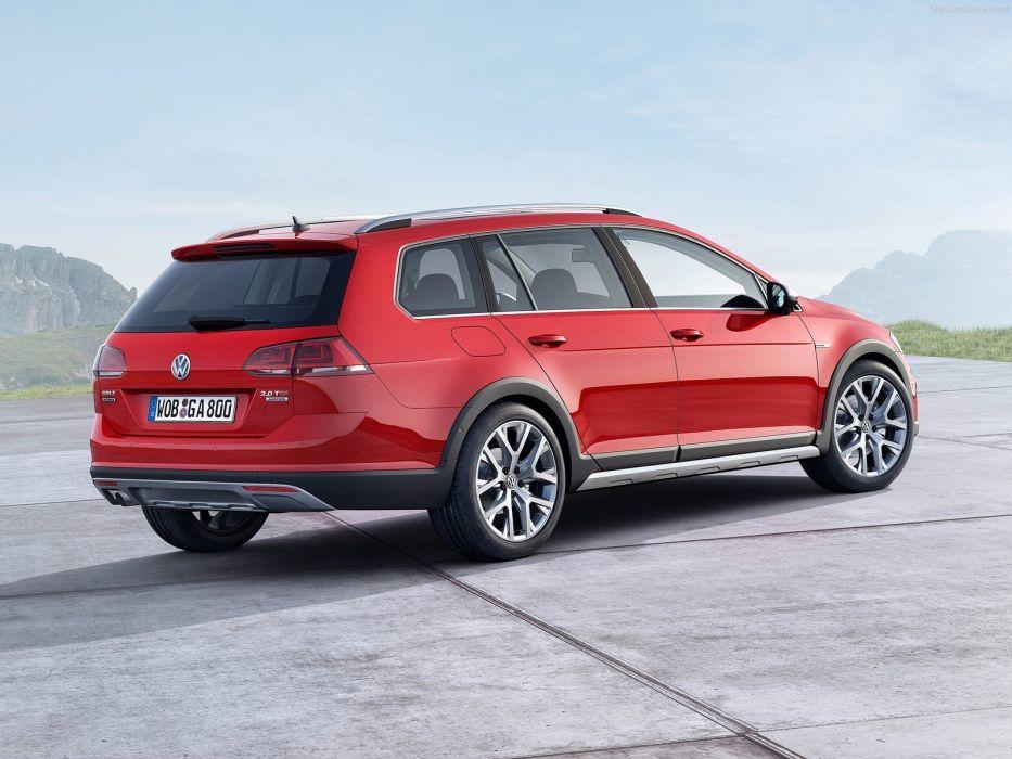 Volkswagen Golf Alltrack suv wagon cars 2015 wallpaper