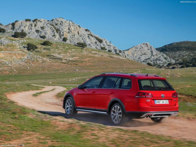Volkswagen Golf Alltrack suv wagon cars 2015 wallpaper