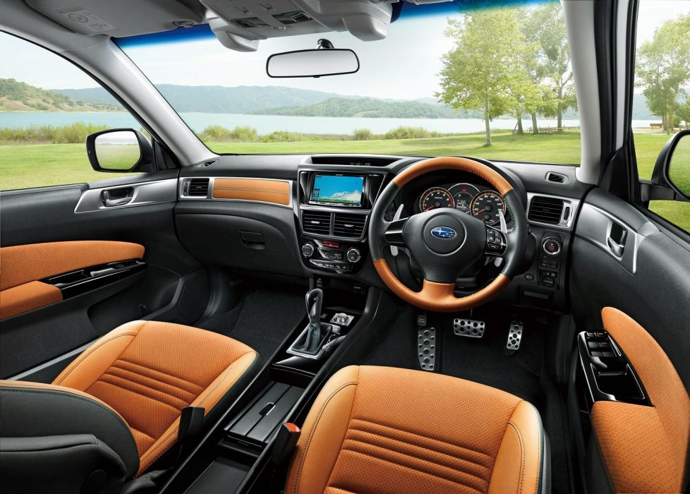 Subaru Exiga Crossover 7 suv cars 2015 wallpaper