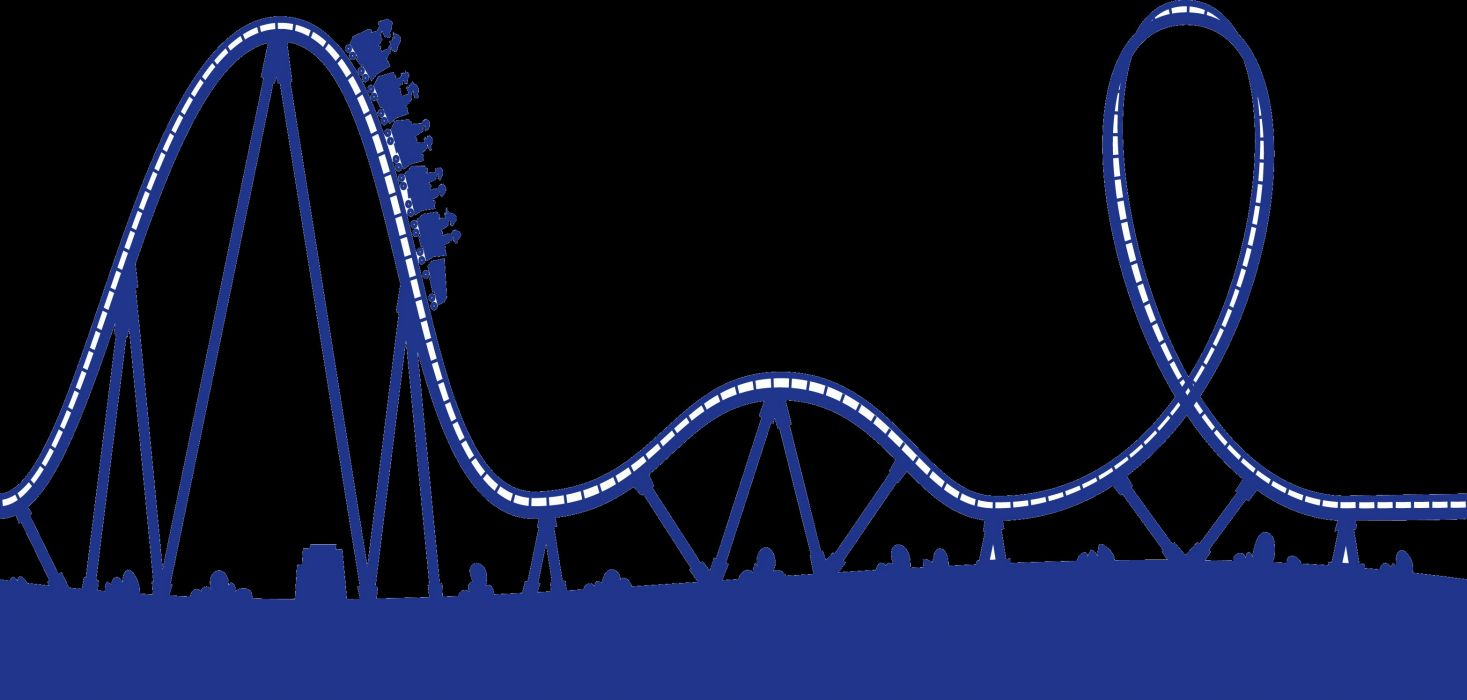 roller coaster amusement park fun rides 1roll adventure summer wallpaper