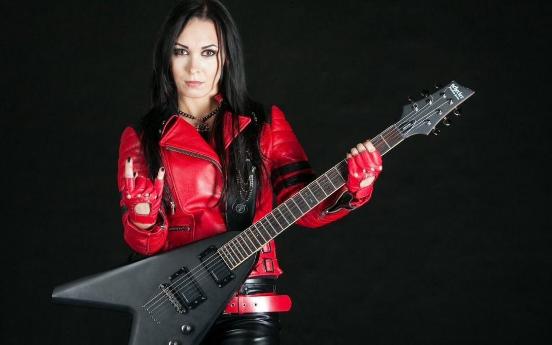 CRYSTAL VIPER power metal heavy 1cviper girl guitar wallpaper