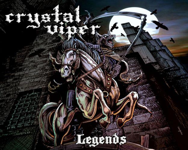 CRYSTAL VIPER power metal heavy 1cviper werewolf reaper dark evil wallpaper