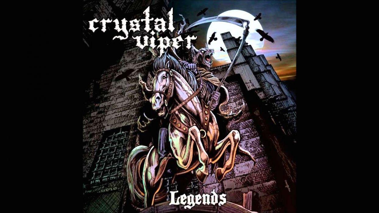 CRYSTAL VIPER power metal heavy 1cviper dark werewolf reaper wallpaper