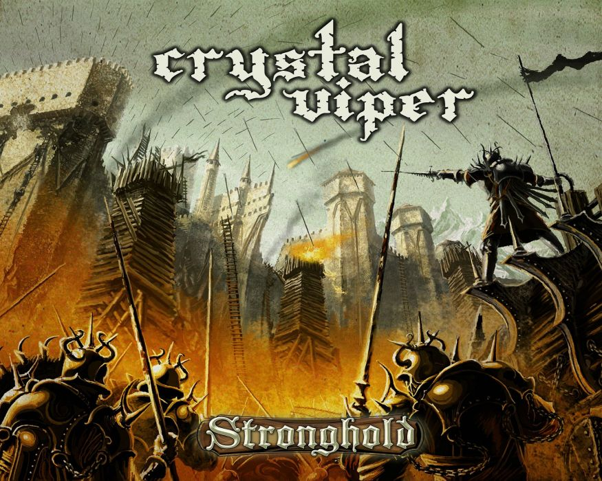 CRYSTAL VIPER power metal heavy 1cviper fantasy warrior battle fighting poster wallpaper