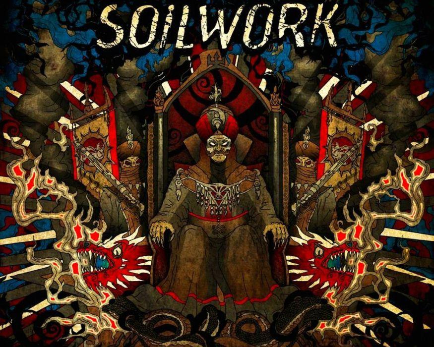 SOILWORK melodic death metal heavy alternative 1soil poster dark reaper wallpaper