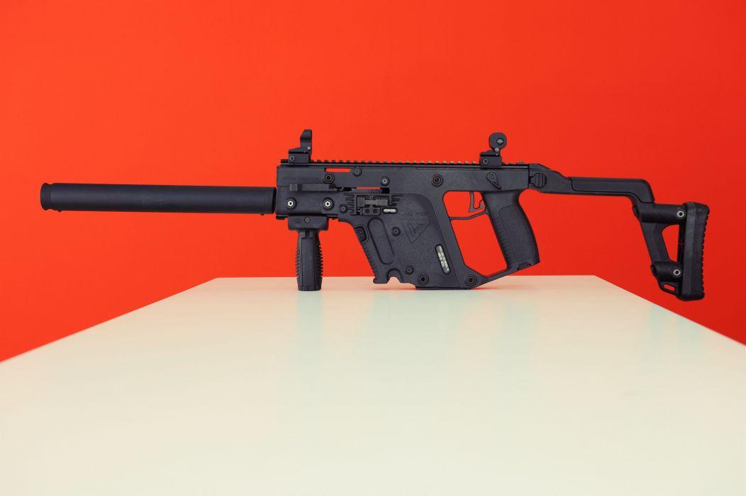 KRISS Vector Super V submachine gun weapon police army military wallpaper