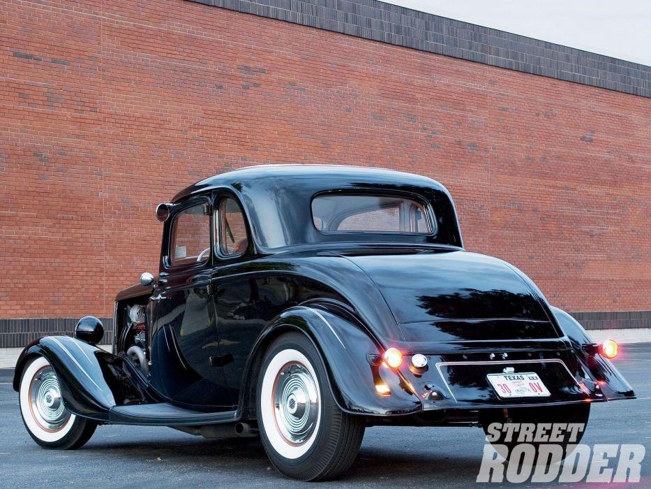 1934 Ford Coupe 5 Window five window Hotrod Street Rod Hot Rod Old ...